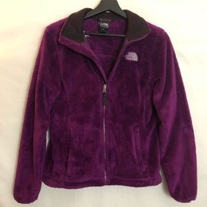 The North Face Soft Fleece Full Zip Jacket Size S